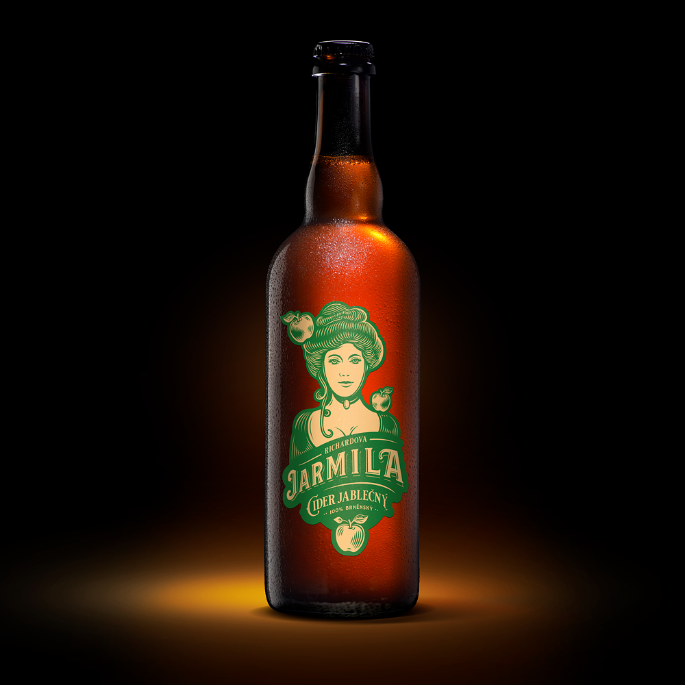 Jarmila 750ml - cider polosuchý