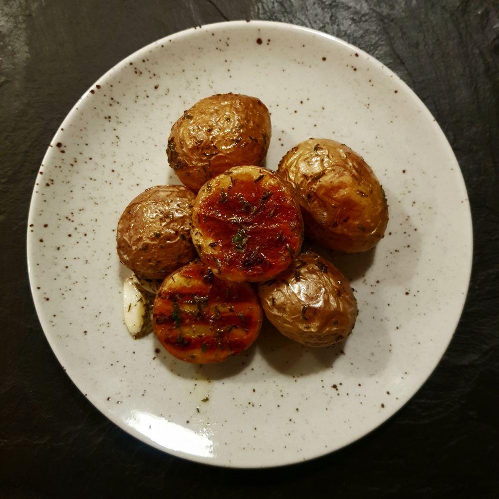 Pečené brambory grenaille