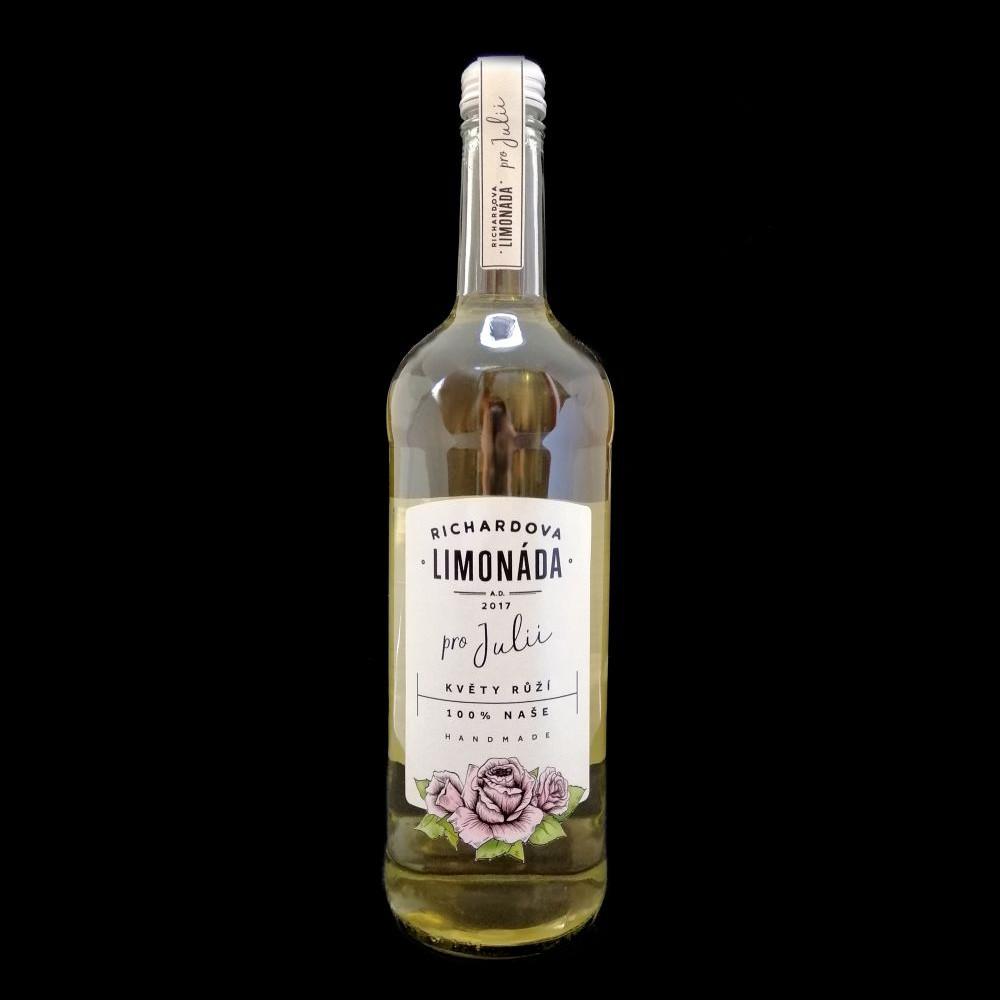 Richardova limonáda 750ml - Květy růží